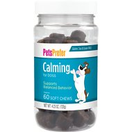 PetsPrefer Calming Soft Chews Dog Supplement, 60 count