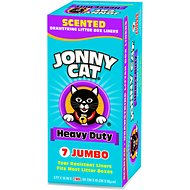 Jonny Cat Heavy Duty Scented Litter Box Liners, 7 count
