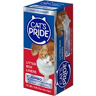 Cat's Pride Jumbo Litter Box Liners, 15-count