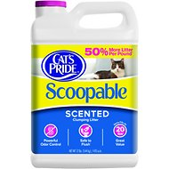 Cat's Pride Premium Scoopable Cat Litter, 12-lb jug