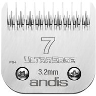 "Andis UltraEdge Skip Tooth Detachable Blade, #7, 1/8"" - 3.2 mm"