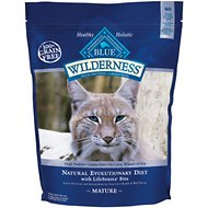 Blue Buffalo Wilderness Mature Chicken Recipe Grain-Free Dry Cat Food, 5-lb bag