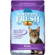 Blue Buffalo Naturally Fresh Walnut-Based Pellet Non-Clumping Cat Litter, 14-lb bag