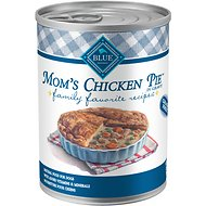 Blue Buffalo Family Favorite Grain-Free Recipes Mom's Chicken Pie Canned Dog Food, 12.5-oz, case of 12