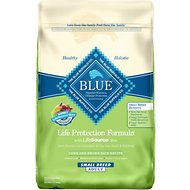 Blue Buffalo Life Protection Formula Small Breed Adult Lamb & Brown Rice Recipe Dry Dog Food, 15-lb bag