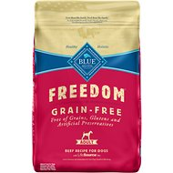 Blue Buffalo Freedom Adult Beef Recipe Grain-Free Dry Dog Food, 24-lb bag