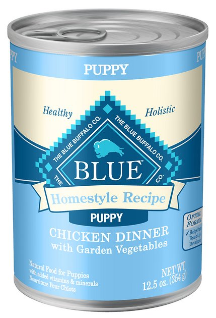 Blue Buffalo Homestyle Recipe Puppy Chicken Dinner With