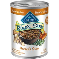 Blue Buffalo Blue's Hunter's Stew Grain Free Canned Dog Food, 12.5-oz, case of 12