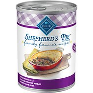 Blue Buffalo Family Favorite Grain-Free Recipes Shepherd's Pie Canned Dog Food, 12.5-oz, case of 12
