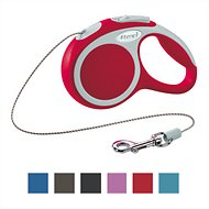 Flexi Vario Retractable Cord Dog Leash, Red, X-Small, 10 ft