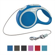 Flexi Vario Retractable Cord Dog Leash, Blue, X-Small, 10 ft
