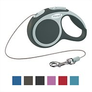 Flexi Vario Retractable Cord Dog Leash, Granite, X-Small, 10 ft