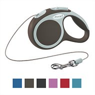 Flexi Vario Retractable Cord Dog Leash, Brown, X-Small, 10 ft