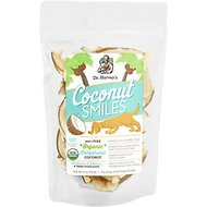 Dr. Harvey's Organic Coconut Smiles Dog Treats, 4-oz bag