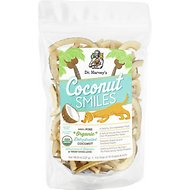 Dr. Harvey's Organic Coconut Smiles Dog Treats, 8-oz bag