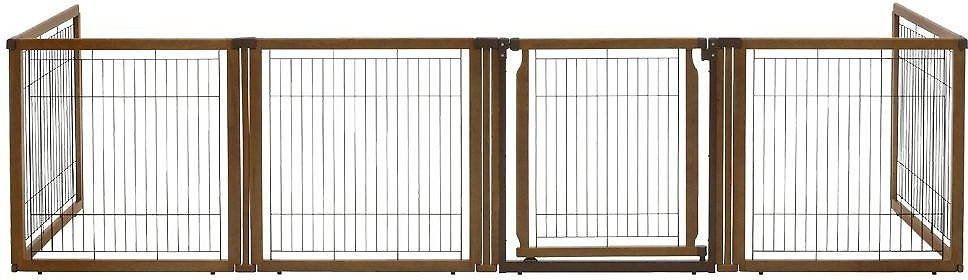 Richell Convertible Elite 6 Panel Dog Amp Cat Gate Chewy Com