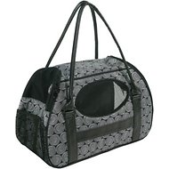 Gen7Pets Carry-Me Deluxe Pet Carrier, Black Onyx, Medium
