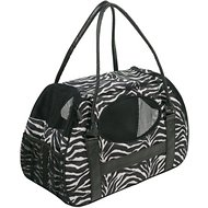 Gen7Pets Carry-Me Deluxe Pet Carrier, Zebra, Large