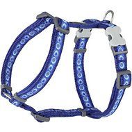 Red Dingo Designer Cosmos Dog Harness, Dark Blue, Small