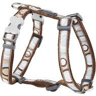 Red Dingo Designer Circadelic Dog Harness, Brown, Small