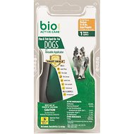 Bio Spot Active Care Flea & Tick Spot On for Dogs, 15-30 lbs, 1 treatment