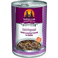 Weruva Hot Dayam! With Luscious Lamb in Gelee Grain-Free Canned Dog Food, 14-oz, case of 12