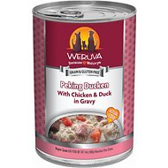 Weruva Peking Ducken with Chicken & Duck in Gravy Canned Dog Food, 14-oz, case of 12