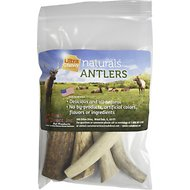 Ultra Chewy Naturals Antlers Dog Chews, 10-oz bag