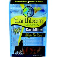 Earthborn Holistic EarthBites Skin & Coat Natural Moist Treats For Dogs, 7.5-oz bag