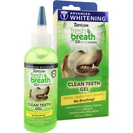 TropiClean Fresh Breath Advanced Whitening Clean Teeth Gel Kit