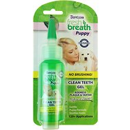 TropiClean Fresh Breath Puppy Clean Teeth Gel, 2-oz bottle