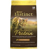 Nature's Variety Instinct Ultimate Protein Duck Formula Grain-Free Dry Cat Food, 5-lb bag