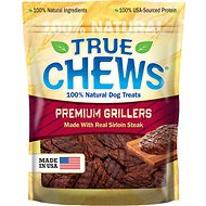 True Chews Premium Grillers with Real Steak Dog Treats, 12-oz bag