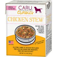 Caru Real Chicken Stew Grain-Free Wet Dog Food, 12.5-oz, case of 12