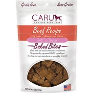 Caru Soft 'n Tasty Baked Bites Beef Recipe Grain-Free Dog Treats, 4-oz bag