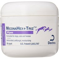 MiconaHex+Triz Wipes for Dogs & Cats, 50 count