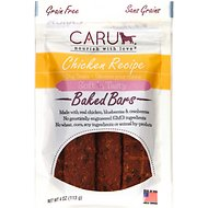 Caru Soft 'n Tasty Baked Bars Chicken Recipe Grain-Free Dog Treats, 3.5-oz bag