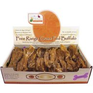 "Canine Caviar Buffalo Chews 6"" Dog Treats, 35-piece box"