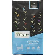 Nature's Logic Feline Sardine Meal Feast Dry Cat Food, 15.4-lb bag