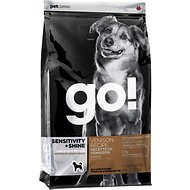 Go! Sensitivity + Shine Limited Ingredient Venison Recipe Dry Dog Food, 25-lb bag