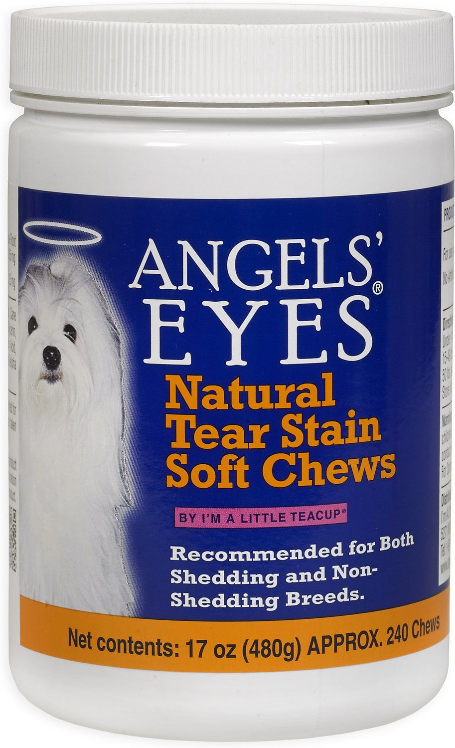 Angels Eyes Chicken Flavored Soft Chews For Dogs Cats