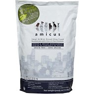 Horizon Amicus Small & Mini Breed Senior & Weight Management Grain-Free Dry Dog Food, 5.5-lb bag