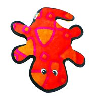Outward Hound Invincibles Geckos Squeak Dog Toy, 2-Squeak Red