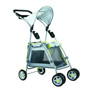 Outward Hound Walk N Roll Pup Stroller, Gray