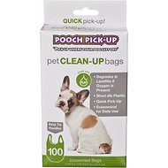 Outward Hound Pooch Pickup Bags with Cornstarch, 100 count