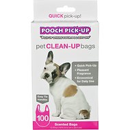 Outward Hound Scented Pooch Pickup Bags, 100 count
