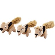 Outward Hound Replacement Squirrels for Hide A Squirrel Puzzle Dog Toy, 3-count