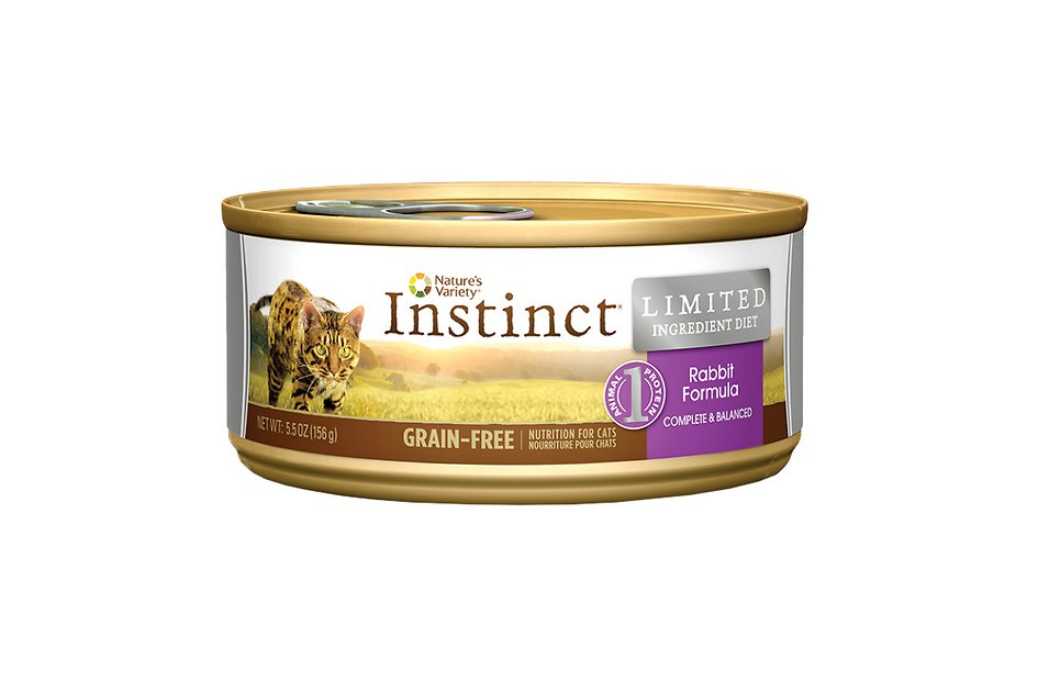 Nature S Variety Instinct Canned Cat Food Rabbit Formula