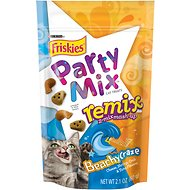 Friskies Party Mix Remix Beachy Craze Cat Treats, 2.1-oz bag