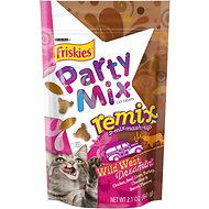Friskies Party Mix Remix Wild West Dreamin' Cat Treats, 2.1-oz bag